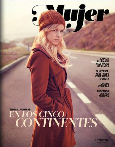 revista mujer Ignacia Allamand Edgardo Navarro Peluqueria